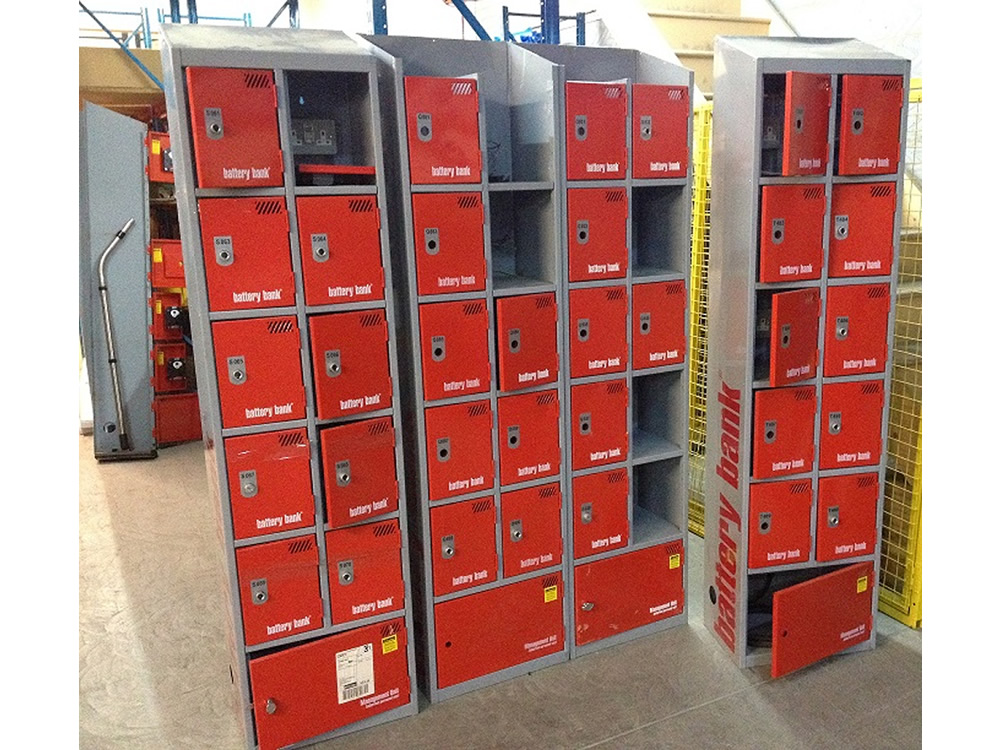 More Battery Banks for refurbishment